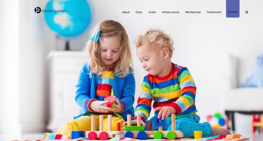 Kindergarten WordPress Theme 0